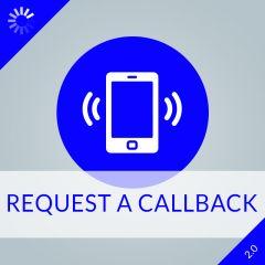 Request a Callback 2.0