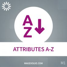 Magento Attributes A-Z Extension