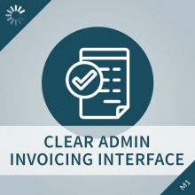 Clear Admin Invoicing Interface Extension