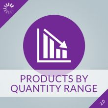 Products By Quantity Range 2.0