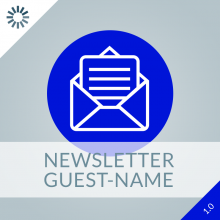 Newsletter Guest-Name