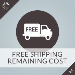 Free Shipping Remaining Cost 2.0