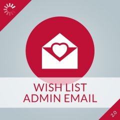 Wish List Admin Email 2.0
